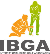 International Blind Golf Association Logo Site Map