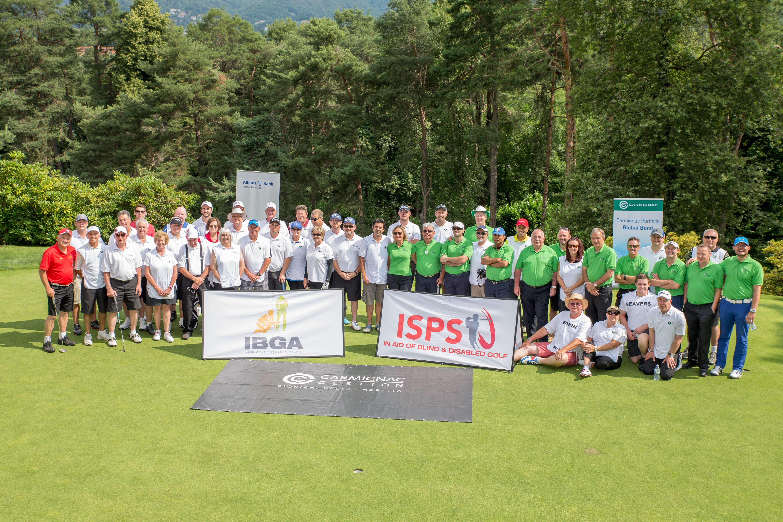 ISPS HANDA VISION CUP 2015 International Blind Golf Association