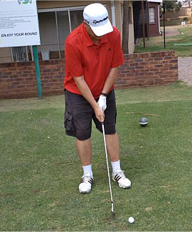 Ernst Conradie Blind Golf South Africa